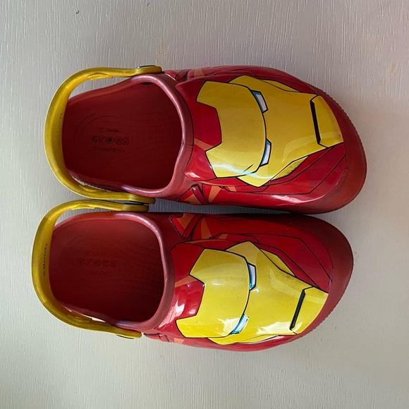 CROCS Shoes | Crocs Size J2 Ironman